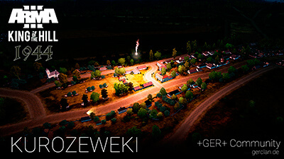 KUROZEWEKI NIGHT |Arma 3 | King of the Hill 1944 | by Samatra